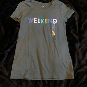GAP WEEKEND tshirt